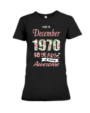 December Girl - Special Edition Premium Fit Ladies Tee thumbnail