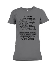 To My Daughter - Special Edition Premium Fit Ladies Tee thumbnail
