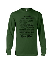 To My Daughter - Special Edition Long Sleeve Tee thumbnail