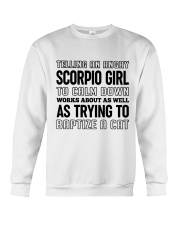 Scorpio Girl Crewneck Sweatshirt tile