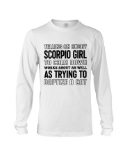 Scorpio Girl Long Sleeve Tee thumbnail