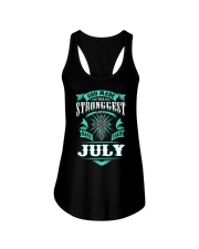 July Girl Stronggest - Special Edition Ladies Flowy Tank thumbnail