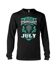 July Girl Stronggest - Special Edition Long Sleeve Tee thumbnail