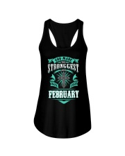 February Girl - Special Edition Ladies Flowy Tank thumbnail