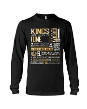 Kings Are Born In June  Long Sleeve Tee thumbnail