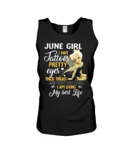 June Girl - Special Edition Unisex Tank tile