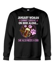 January Woman - Special Edition Crewneck Sweatshirt thumbnail