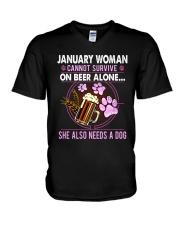 January Woman - Special Edition V-Neck T-Shirt thumbnail