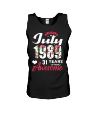 July 1989 - Special Edition Unisex Tank thumbnail