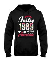 July 1989 - Special Edition Hooded Sweatshirt front