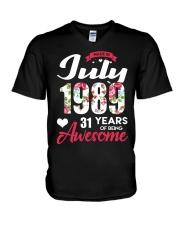 July 1989 - Special Edition V-Neck T-Shirt thumbnail