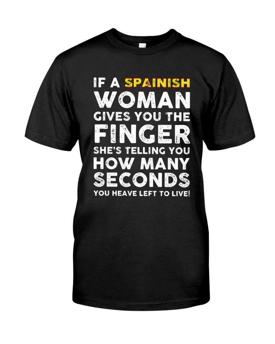 Spainish Woman Classic T-Shirt
