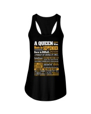 A Queen Was Born In September Ladies Flowy Tank thumbnail