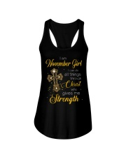 November Girl - Special Edition Ladies Flowy Tank thumbnail