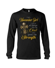 November Girl - Special Edition Long Sleeve Tee tile