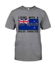 Living With A New Zealand Classic T-Shirt front