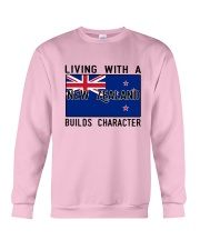 Living With A New Zealand Crewneck Sweatshirt thumbnail