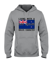Living With A New Zealand Hooded Sweatshirt thumbnail