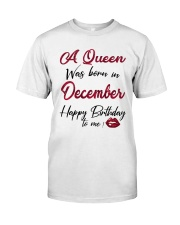 December Girl - Special Edition Classic T-Shirt front