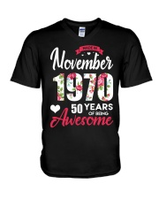 November Girl - Special Edition V-Neck T-Shirt thumbnail