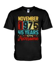 November 1975 - Special Edition V-Neck T-Shirt thumbnail