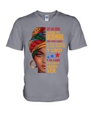 Soy Una Reina Nacida En Diciembre V-Neck T-Shirt thumbnail