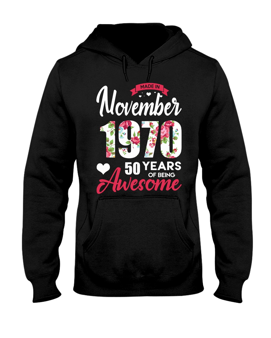November Girl - Special Edition Hooded Sweatshirt