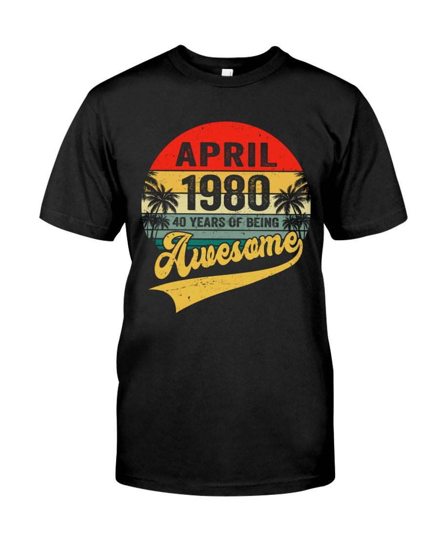 April 1980 - Special Edition Classic T-Shirt