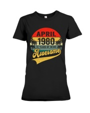 April 1980 - Special Edition Premium Fit Ladies Tee thumbnail