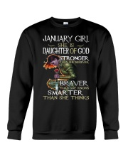 January Girl - Special Edition Crewneck Sweatshirt thumbnail