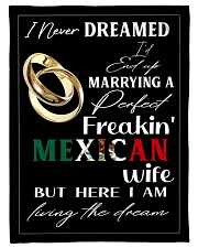 "Mexican Wife Small Fleece Blanket - 30"" x 40"" thumbnail"