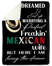 "Mexican Wife Large Sherpa Fleece Blanket - 60"" x 80"" thumbnail"