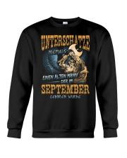 Mann Der im September Geboren Wurde Crewneck Sweatshirt thumbnail