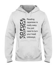 Go Fucck Your Self Hooded Sweatshirt thumbnail
