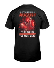 August Guy - Special Edition Classic T-Shirt back