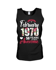 February Girl - Special Edition Unisex Tank thumbnail