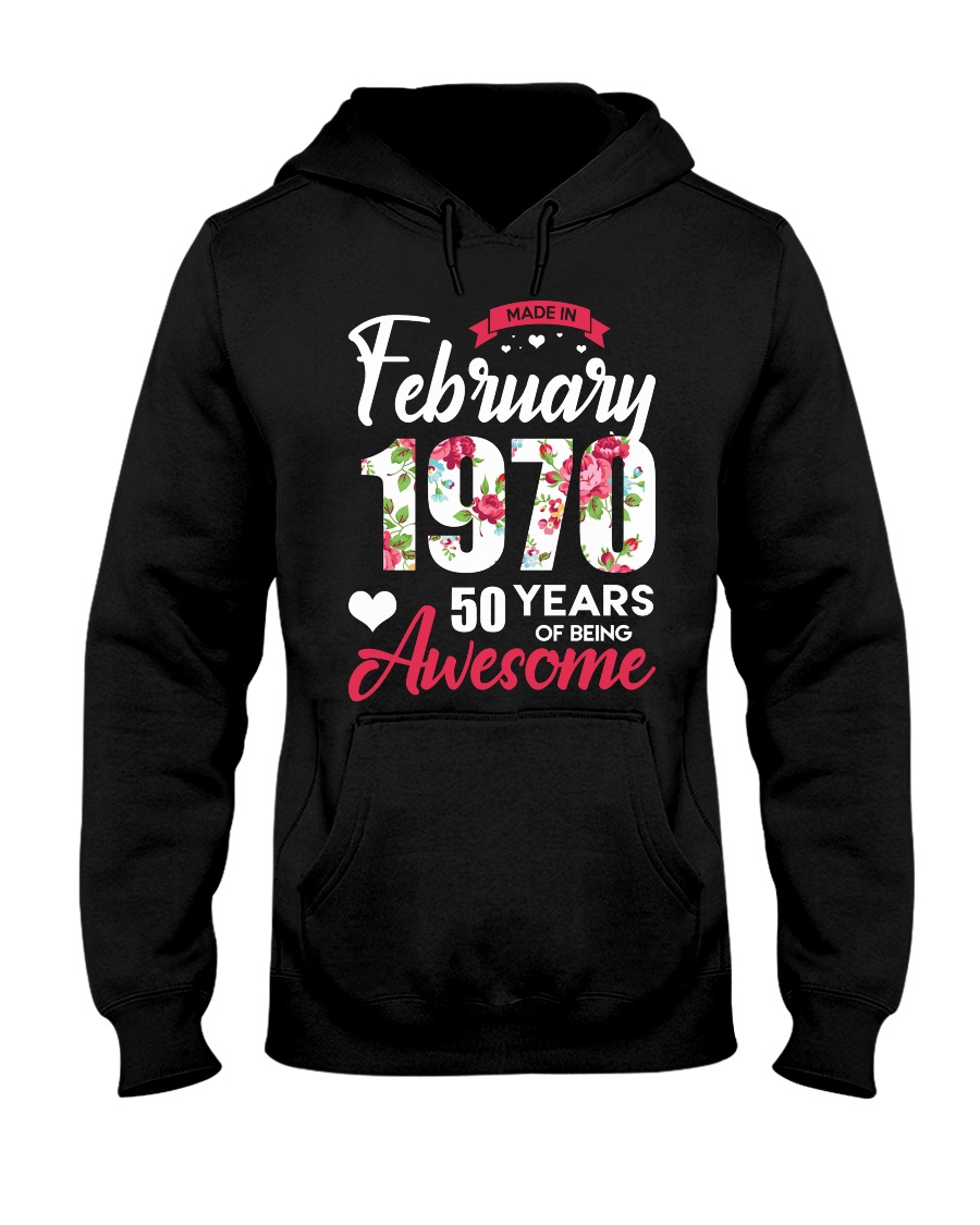 February Girl - Special Edition Hooded Sweatshirt