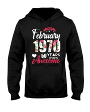February Girl - Special Edition Hooded Sweatshirt front