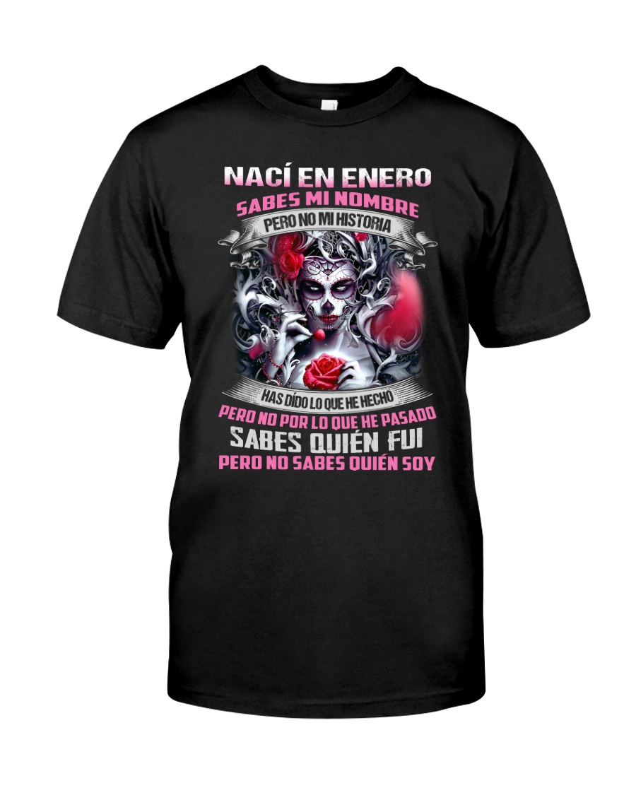 Nací En Enero Classic T-Shirt