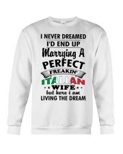 Italian Wife Crewneck Sweatshirt thumbnail