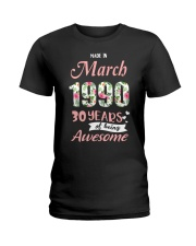March Girl - Special Edition Ladies T-Shirt thumbnail