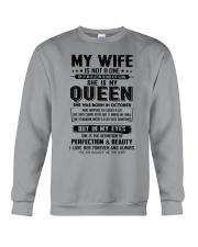 My Wife Was Born In October  Crewneck Sweatshirt thumbnail