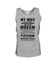 My Wife Was Born In October  Unisex Tank thumbnail
