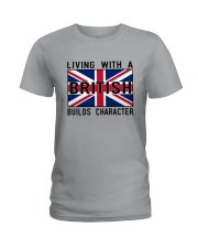 Living With A British Ladies T-Shirt thumbnail