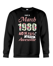 March Girl - Special Edition Crewneck Sweatshirt thumbnail