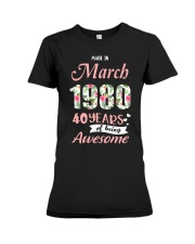 March Girl - Special Edition Premium Fit Ladies Tee thumbnail