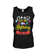 June 25th Unisex Tank thumbnail