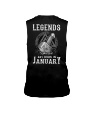 Legends Are Born In January Sleeveless Tee thumbnail