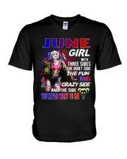June Girl - Special Edition V-Neck T-Shirt tile