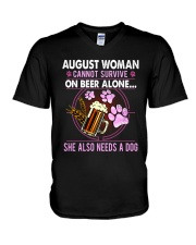 August Woman - Special Edition V-Neck T-Shirt thumbnail